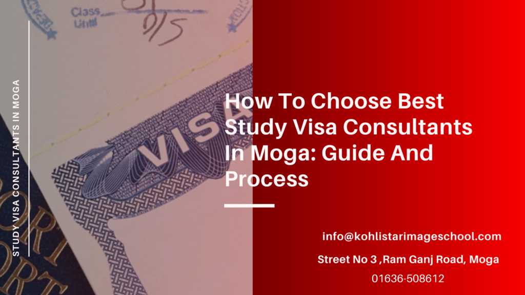 Study Visa Consultants In Moga